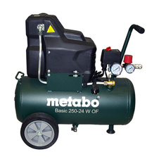 Kompresor bezolejový Metabo Basic 250-24 W OF